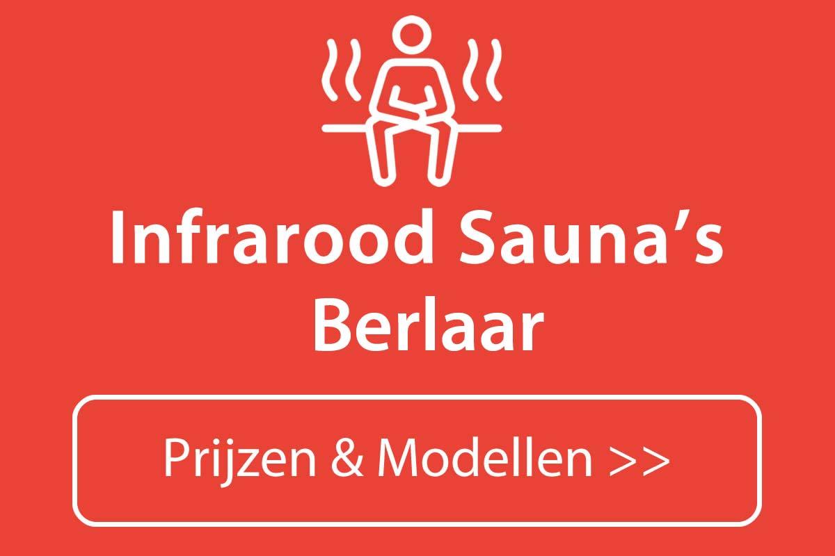 Infrarood sauna kopen in Berlaar