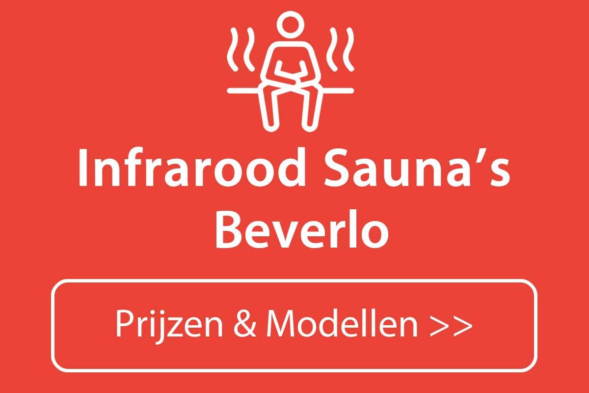 Infrarood sauna kopen in Beverlo