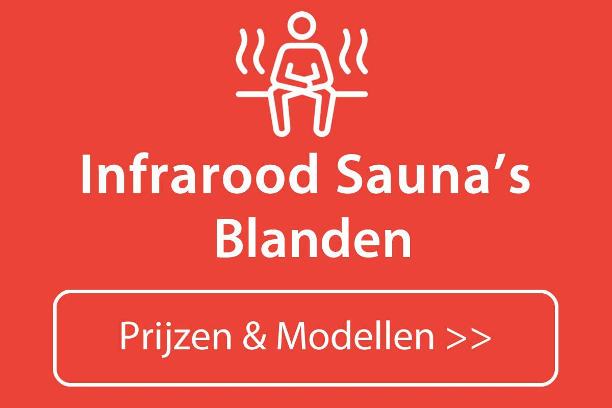 Infrarood sauna kopen in Blanden