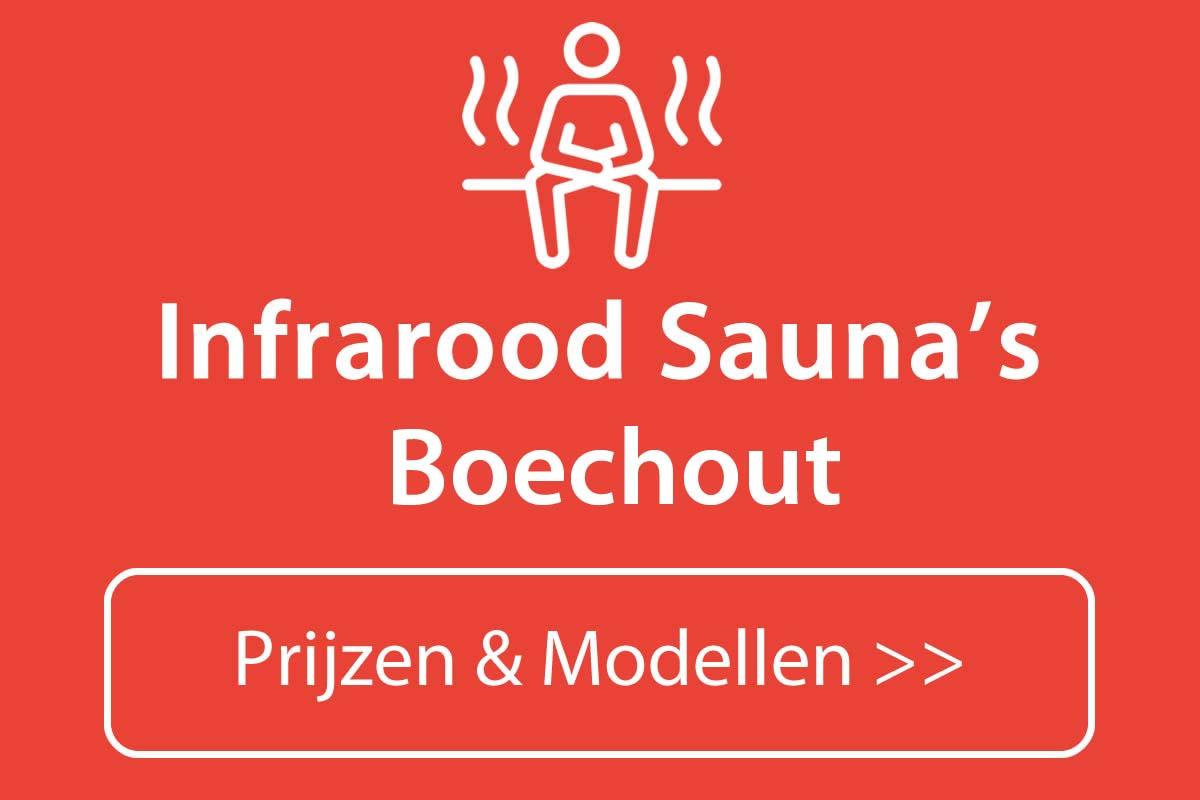 Infrarood sauna kopen in Boechout