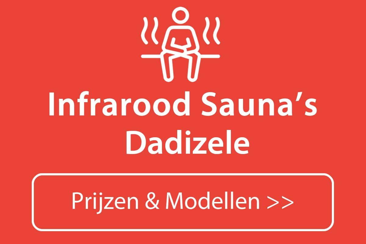Infrarood sauna kopen in Dadizele