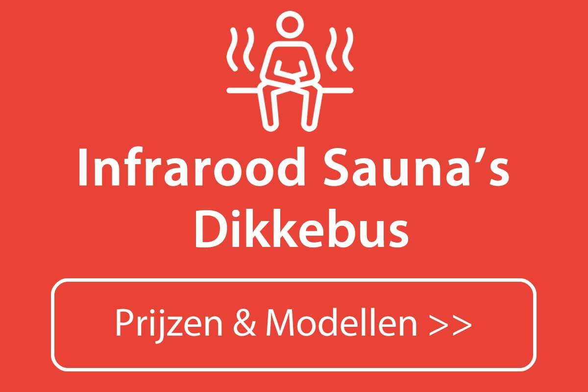 Infrarood sauna kopen in Dikkebus