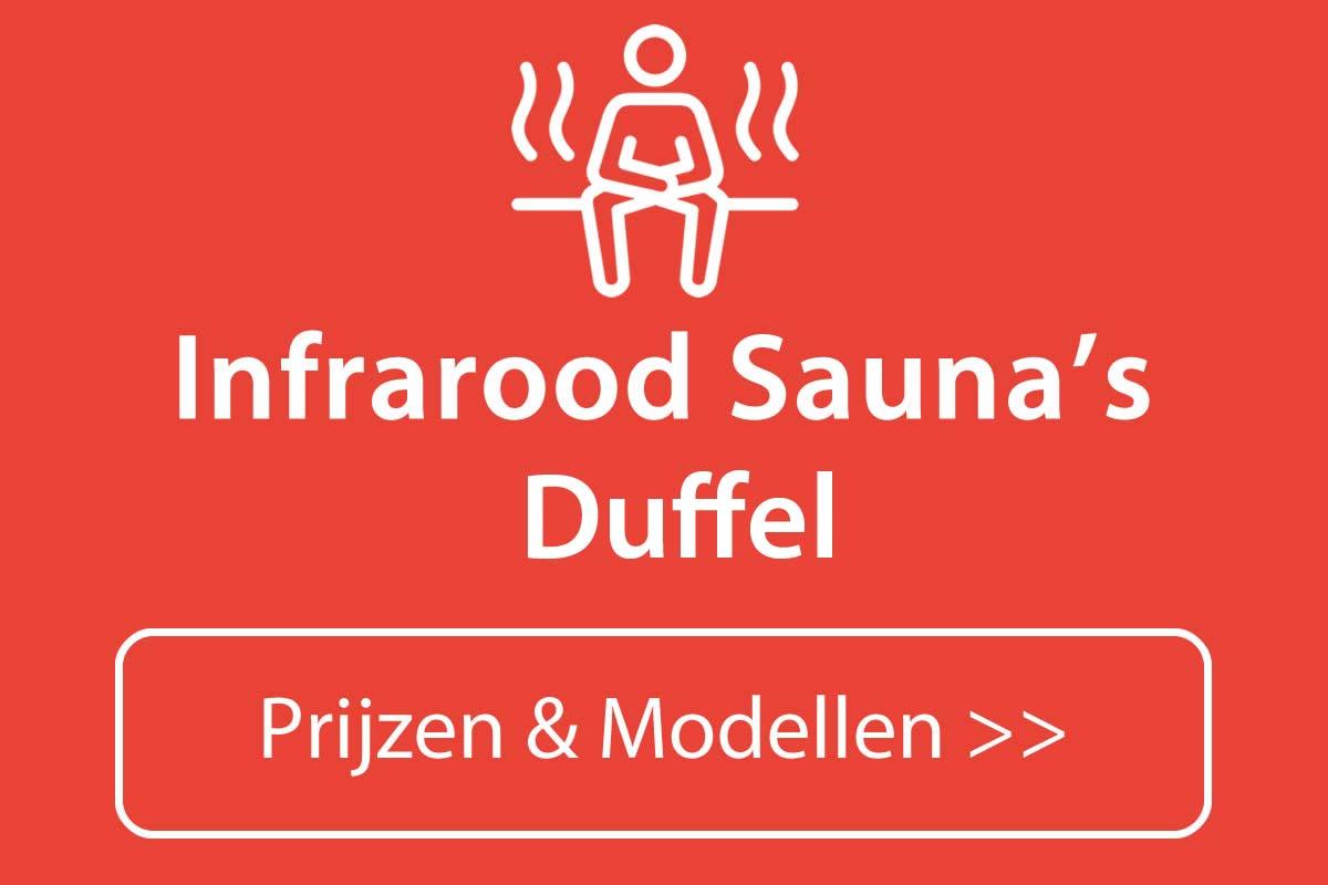 Infrarood sauna kopen in Duffel