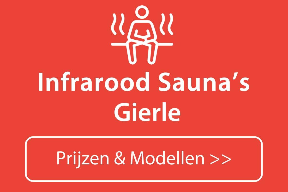Infrarood sauna kopen in Gierle