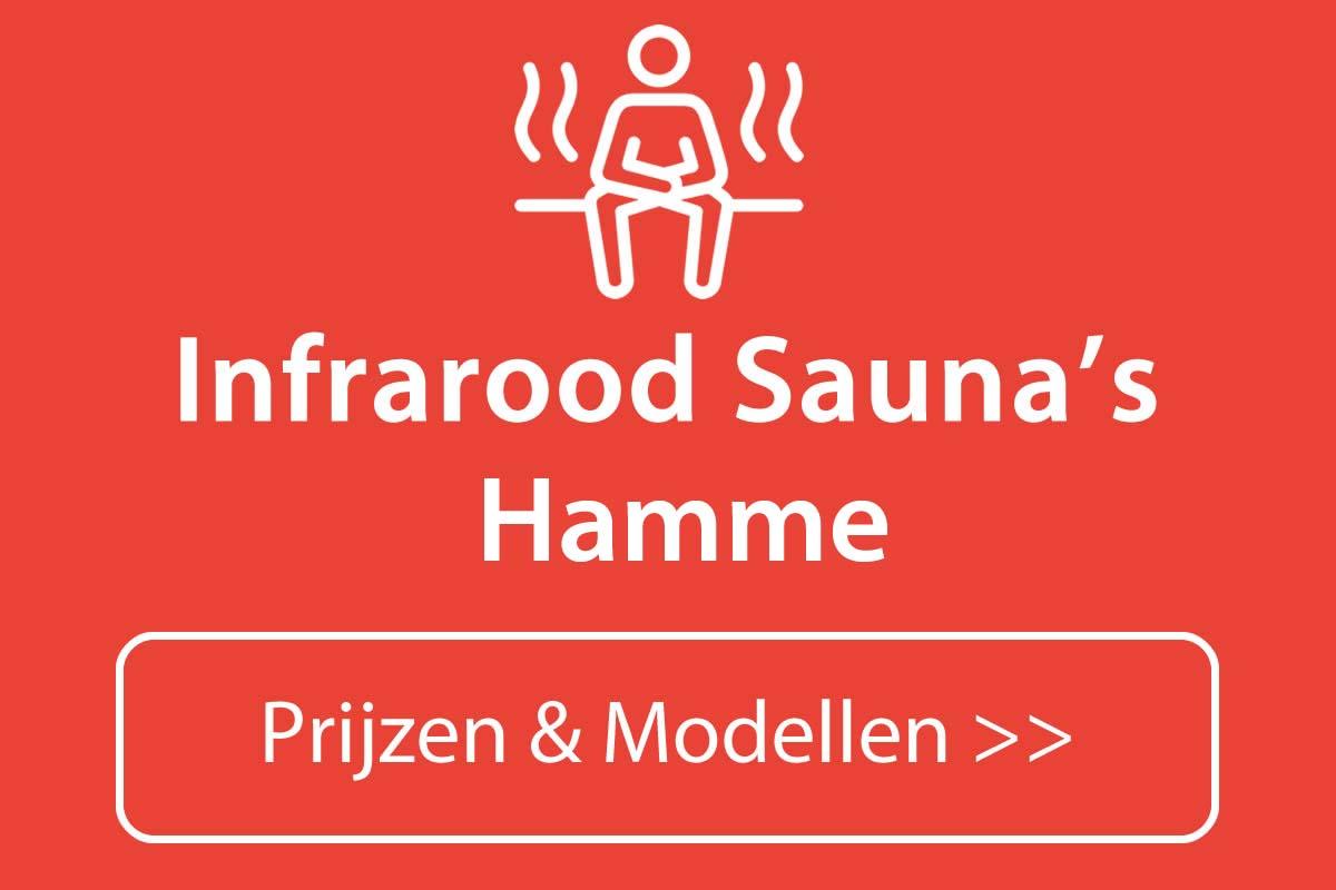Infrarood sauna kopen in Hamme