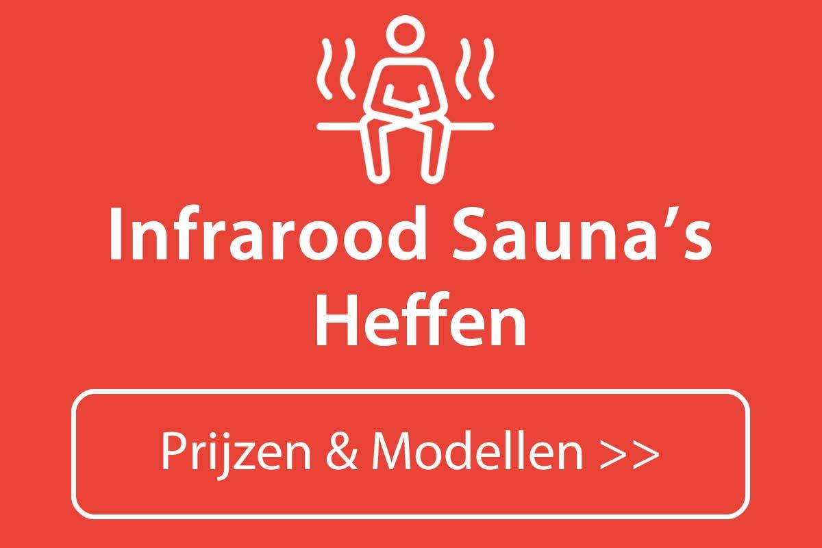 Infrarood sauna kopen in Heffen