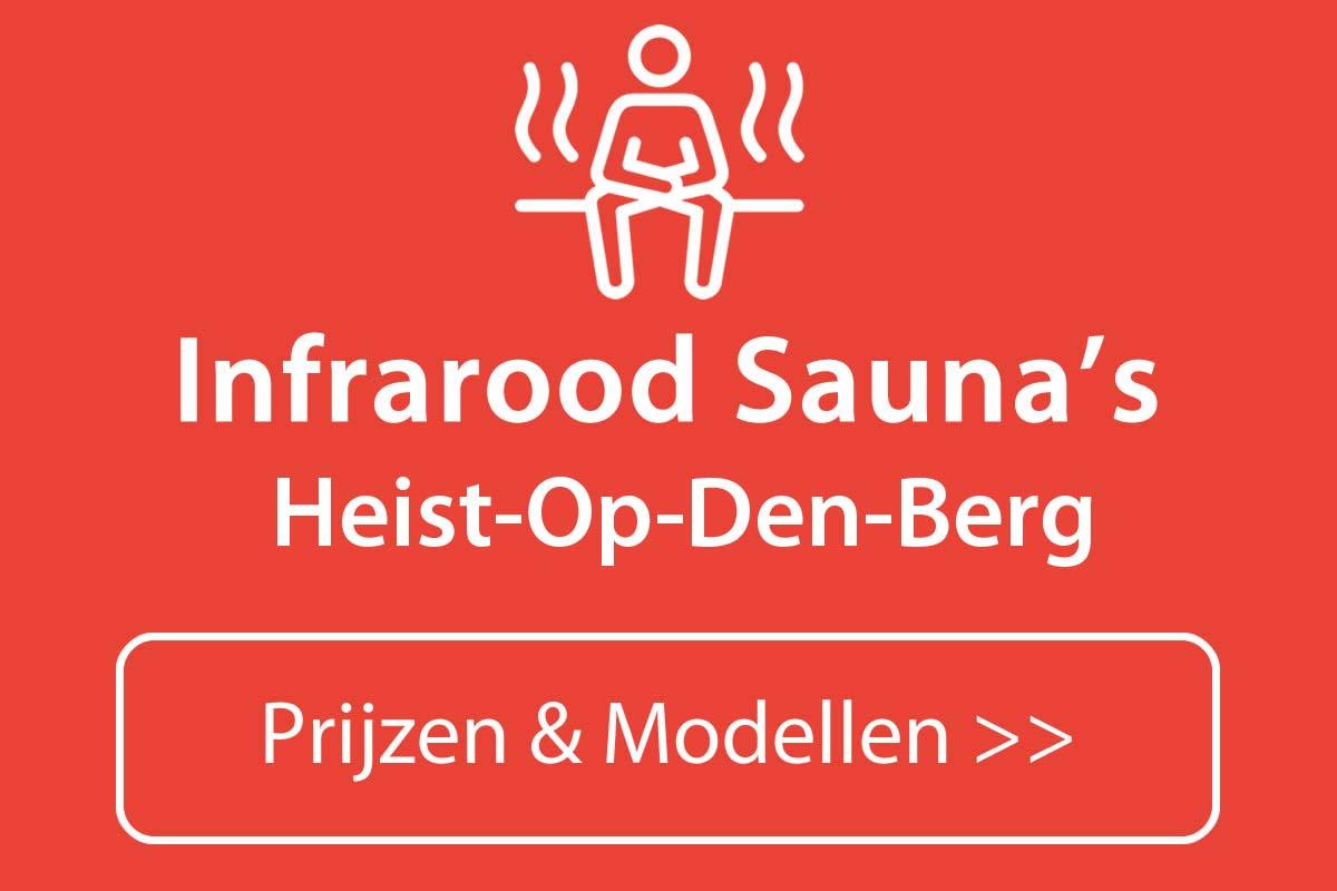 Infrarood sauna kopen in Heist-Op-Den-Berg