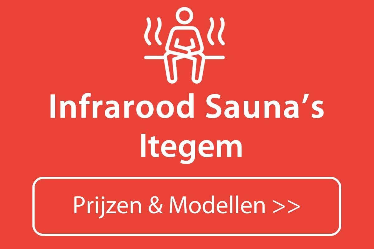 Infrarood sauna kopen in Itegem