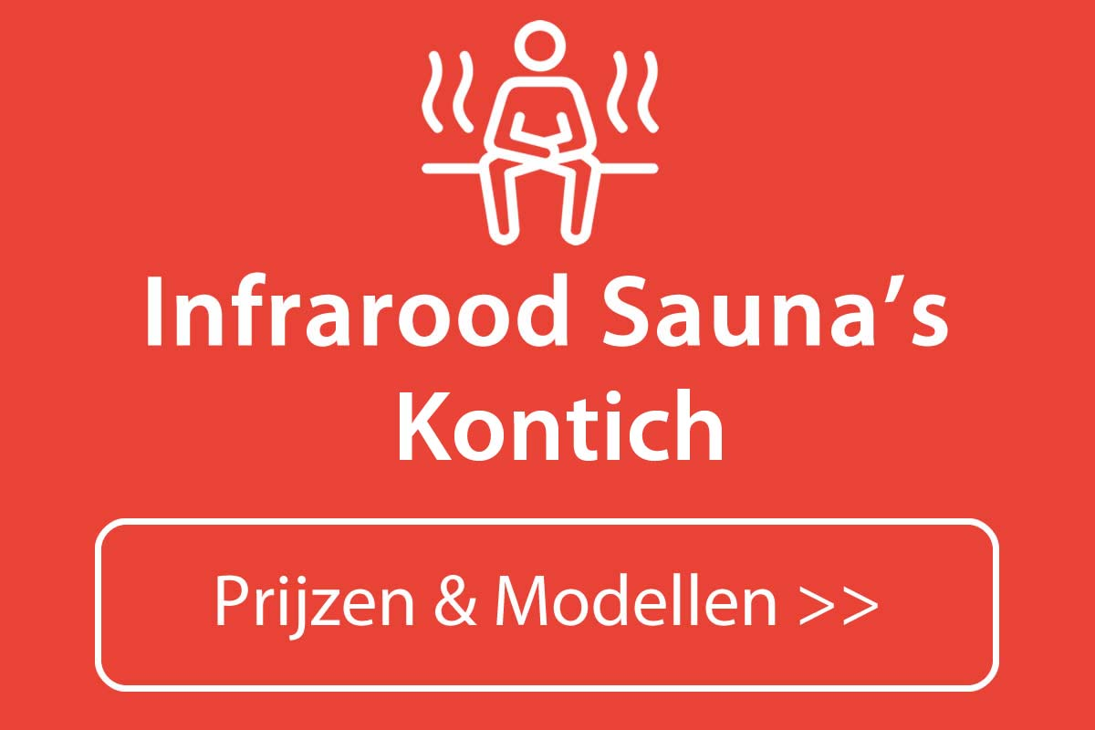 Infrarood sauna kopen in Kontich