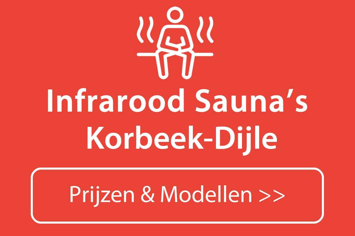 Infrarood sauna kopen in Korbeek-Dijle