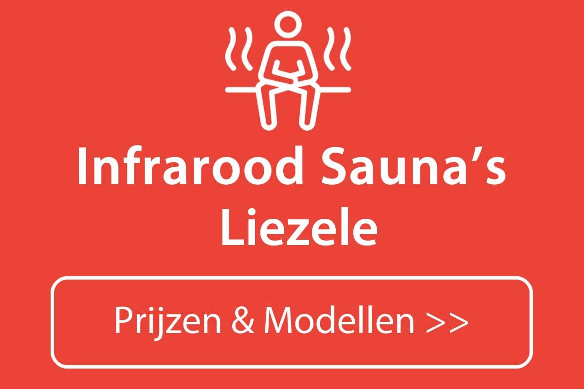Infrarood sauna kopen in Liezele