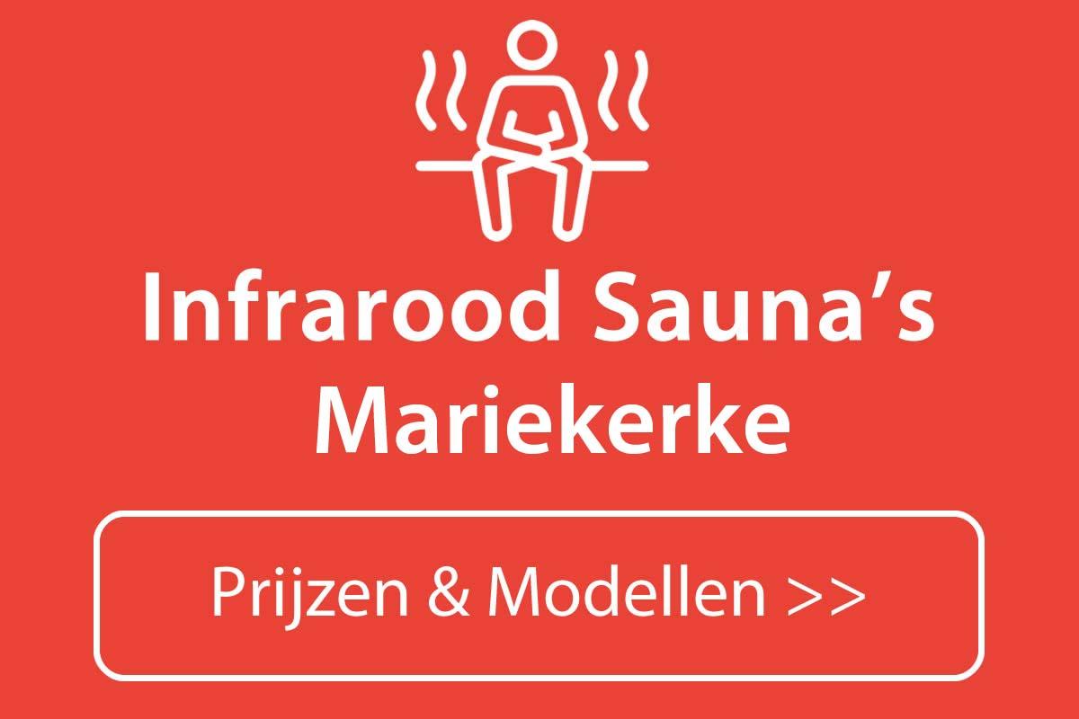 Infrarood sauna kopen in Mariekerke