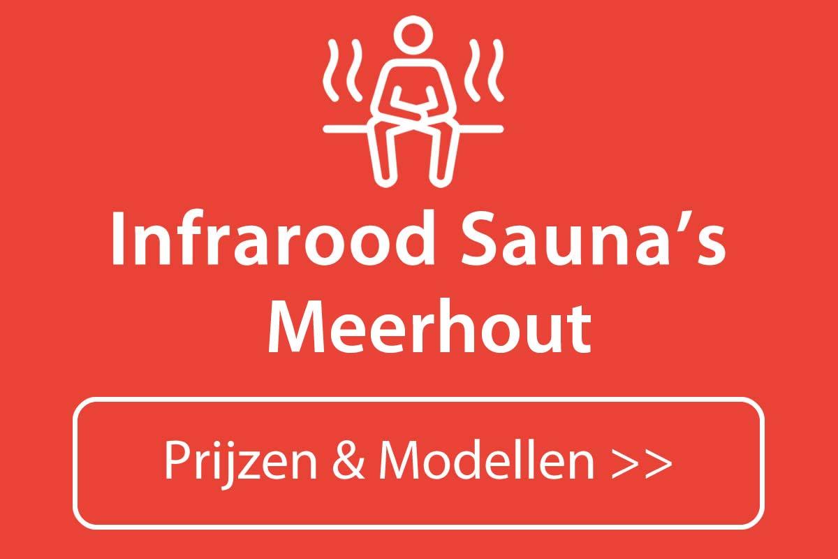 Infrarood sauna kopen in Meerhout