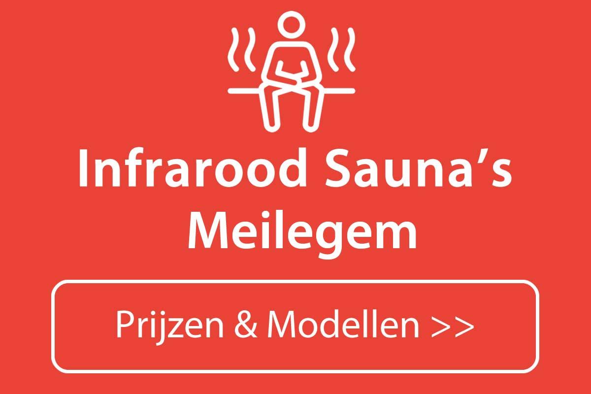 Infrarood sauna kopen in Meilegem