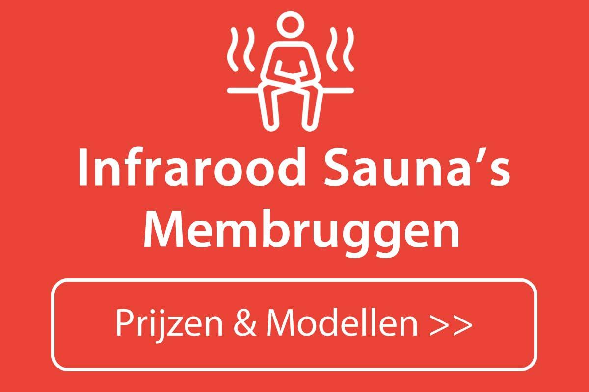 Infrarood sauna kopen in Membruggen