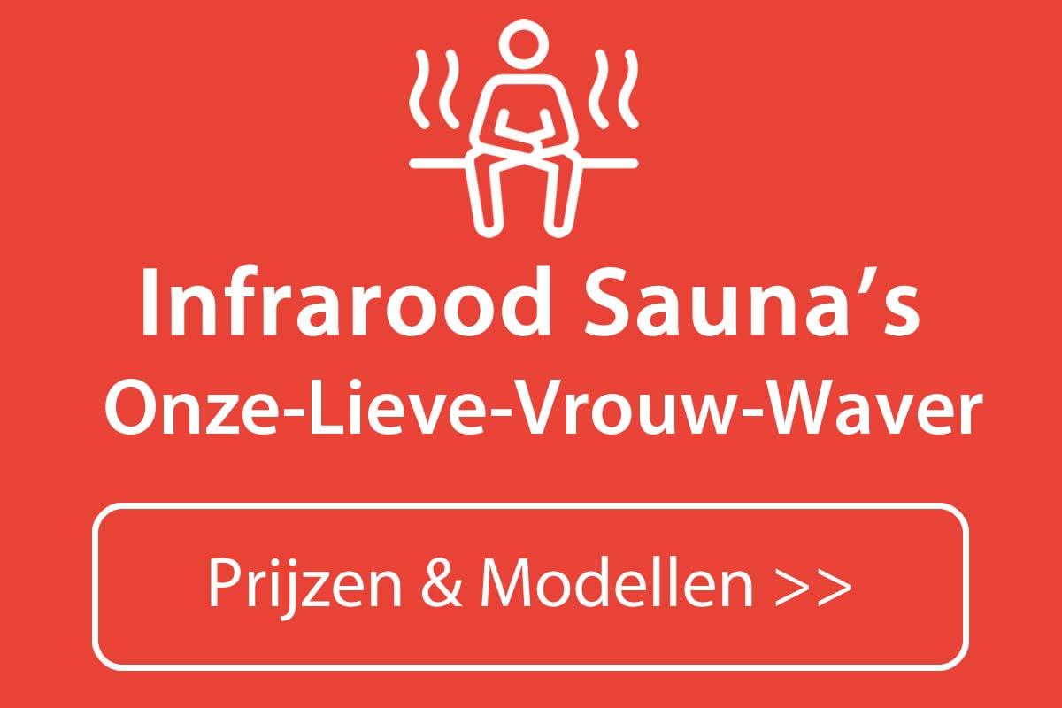 Infrarood sauna kopen in Onze-Lieve-Vrouw-Waver