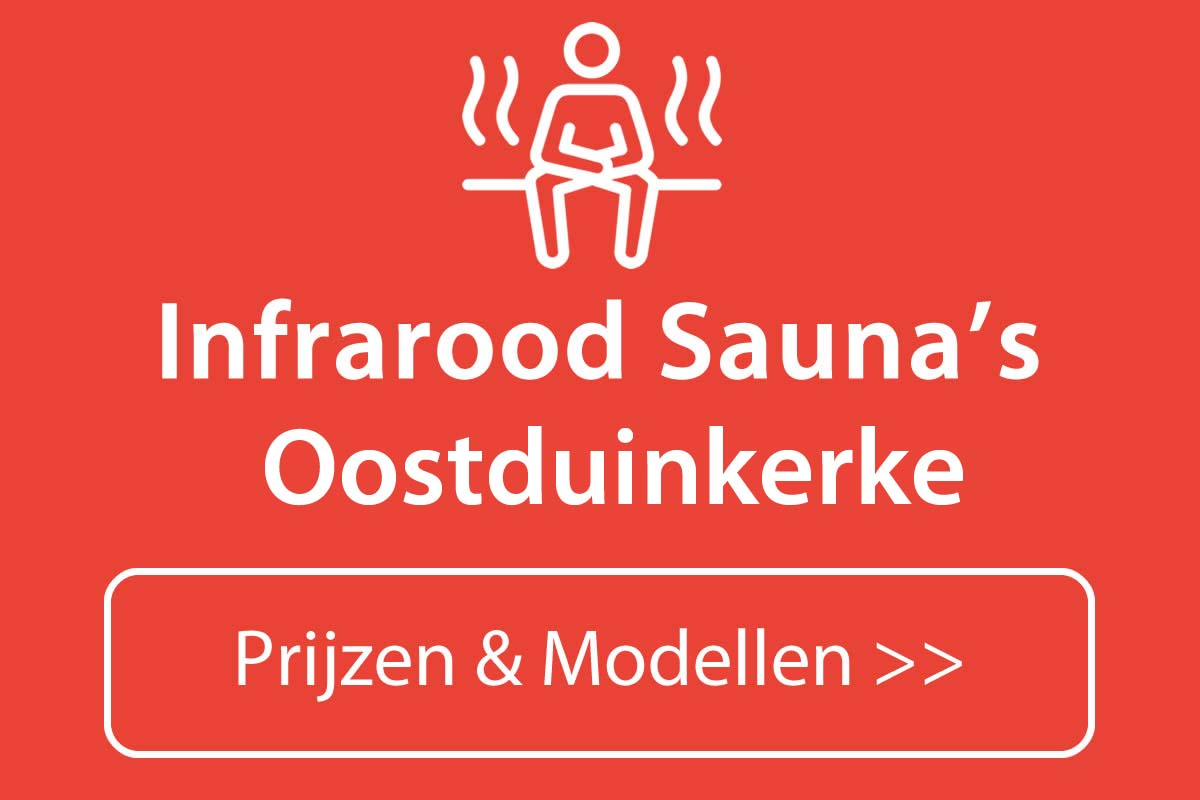 Infrarood sauna kopen in Oostduinkerke