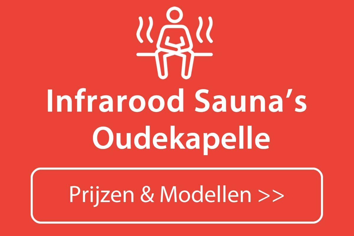 Infrarood sauna kopen in Oudekapelle