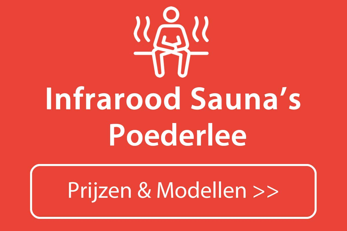 Infrarood sauna kopen in Poederlee