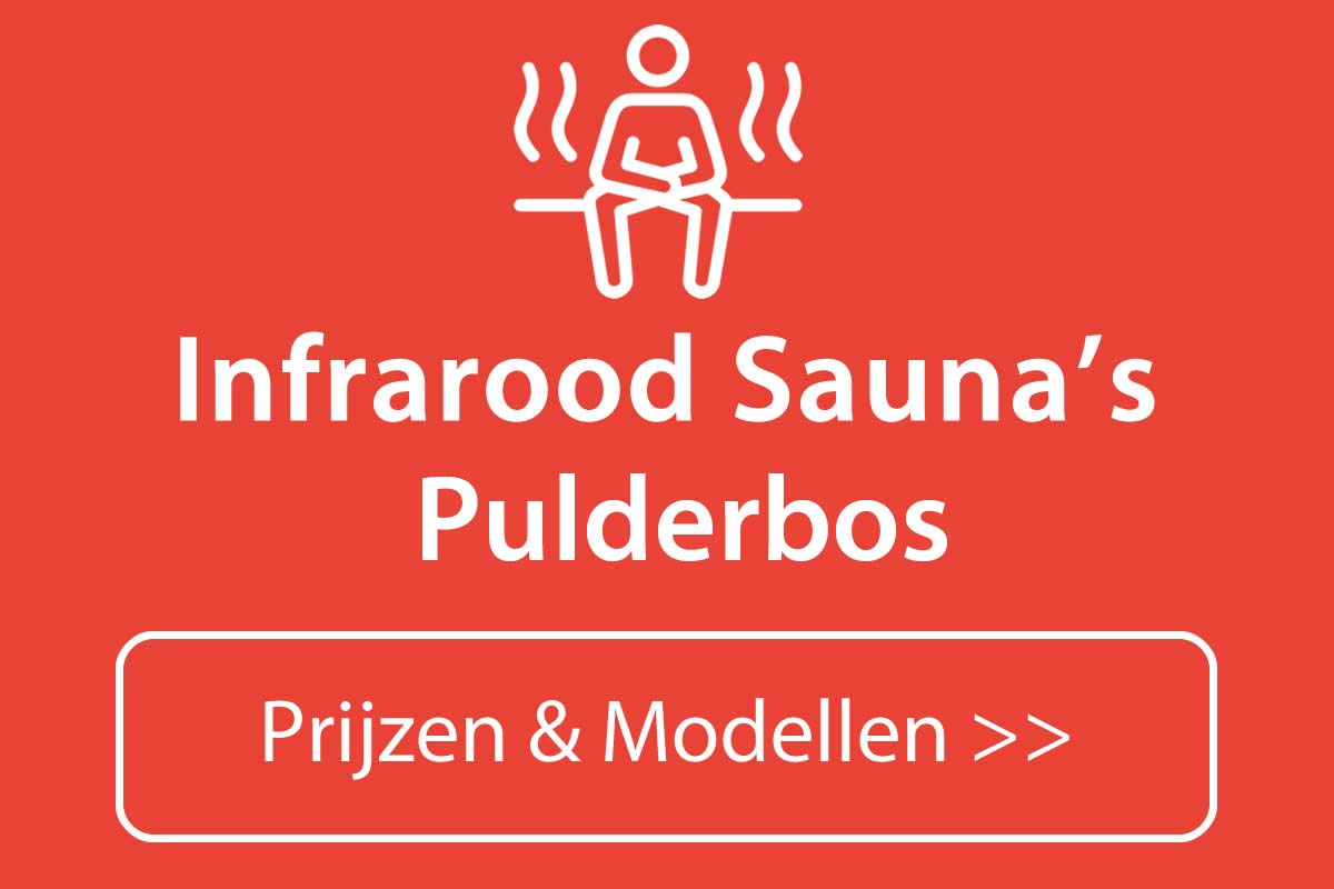 Infrarood sauna kopen in Pulderbos