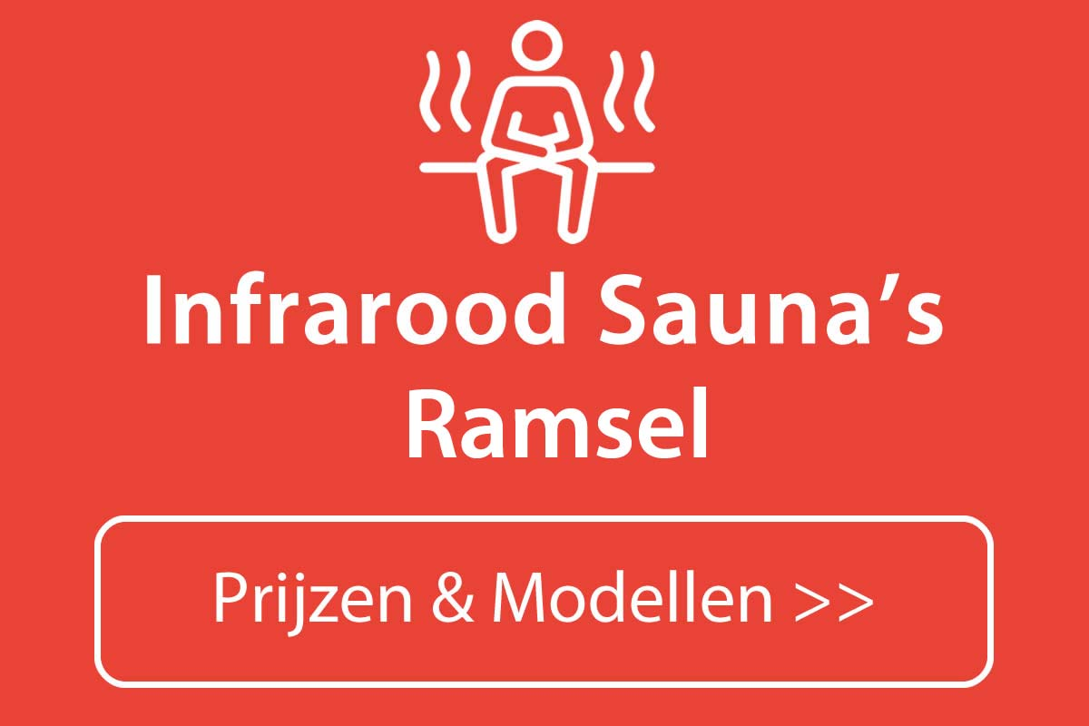 Infrarood sauna kopen in Ramsel