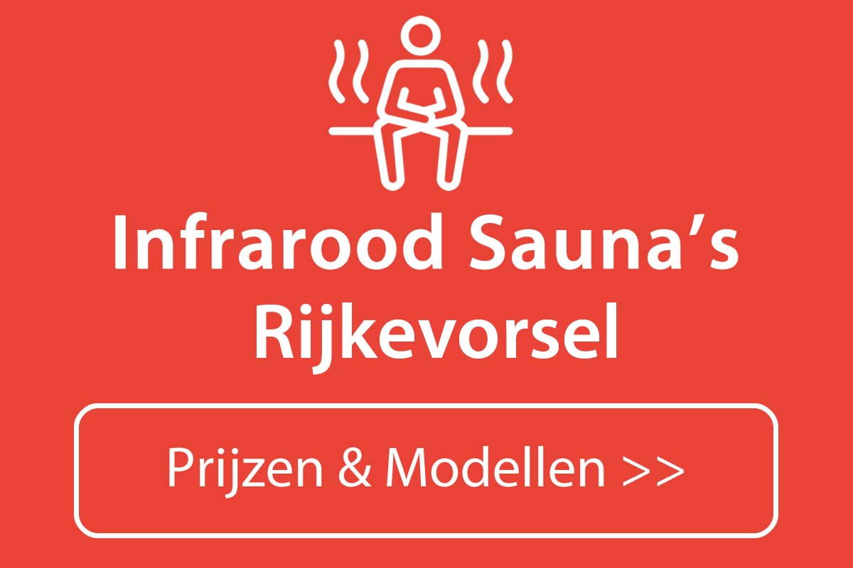 Infrarood sauna kopen in Rijkevorsel