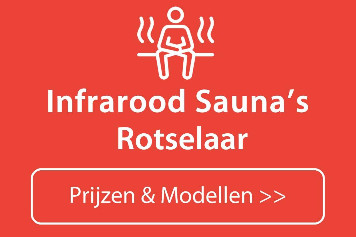 Infrarood sauna kopen in Rotselaar