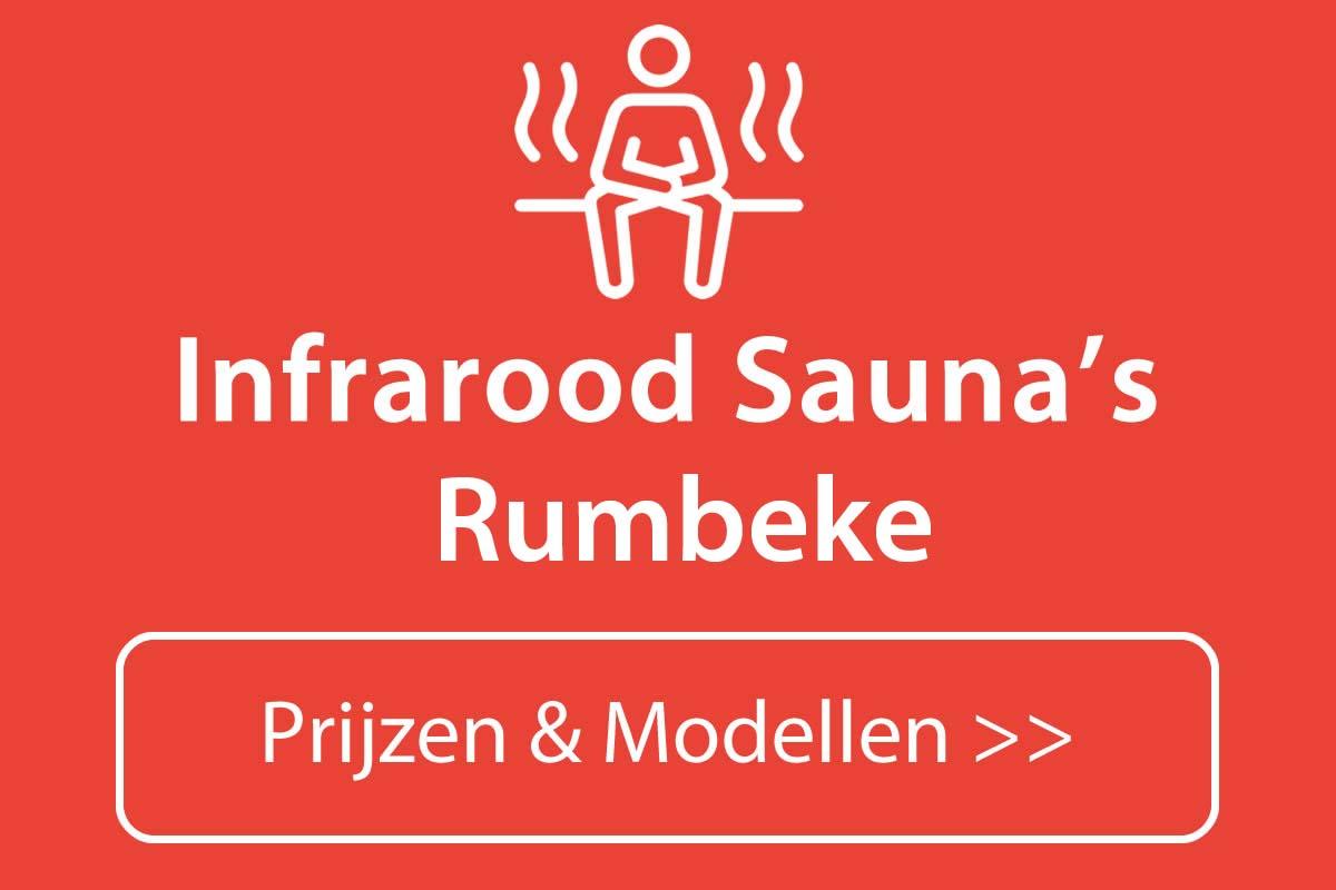 Infrarood sauna kopen in Rumbeke