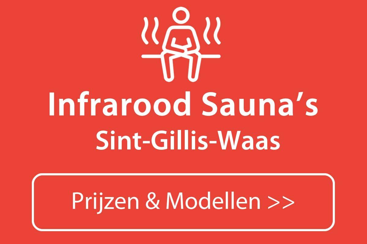 Infrarood sauna kopen in Sint-Gillis-Waas
