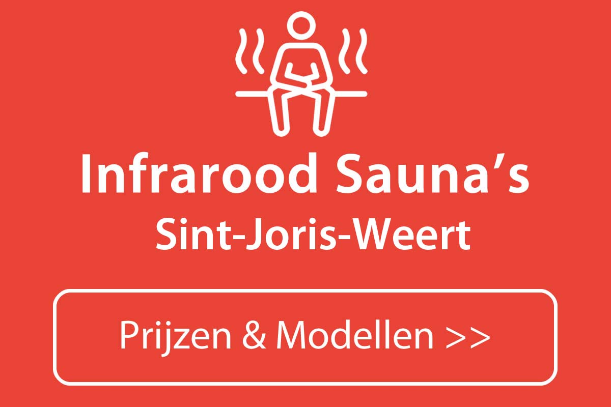 Infrarood sauna kopen in Sint-Joris-Weert