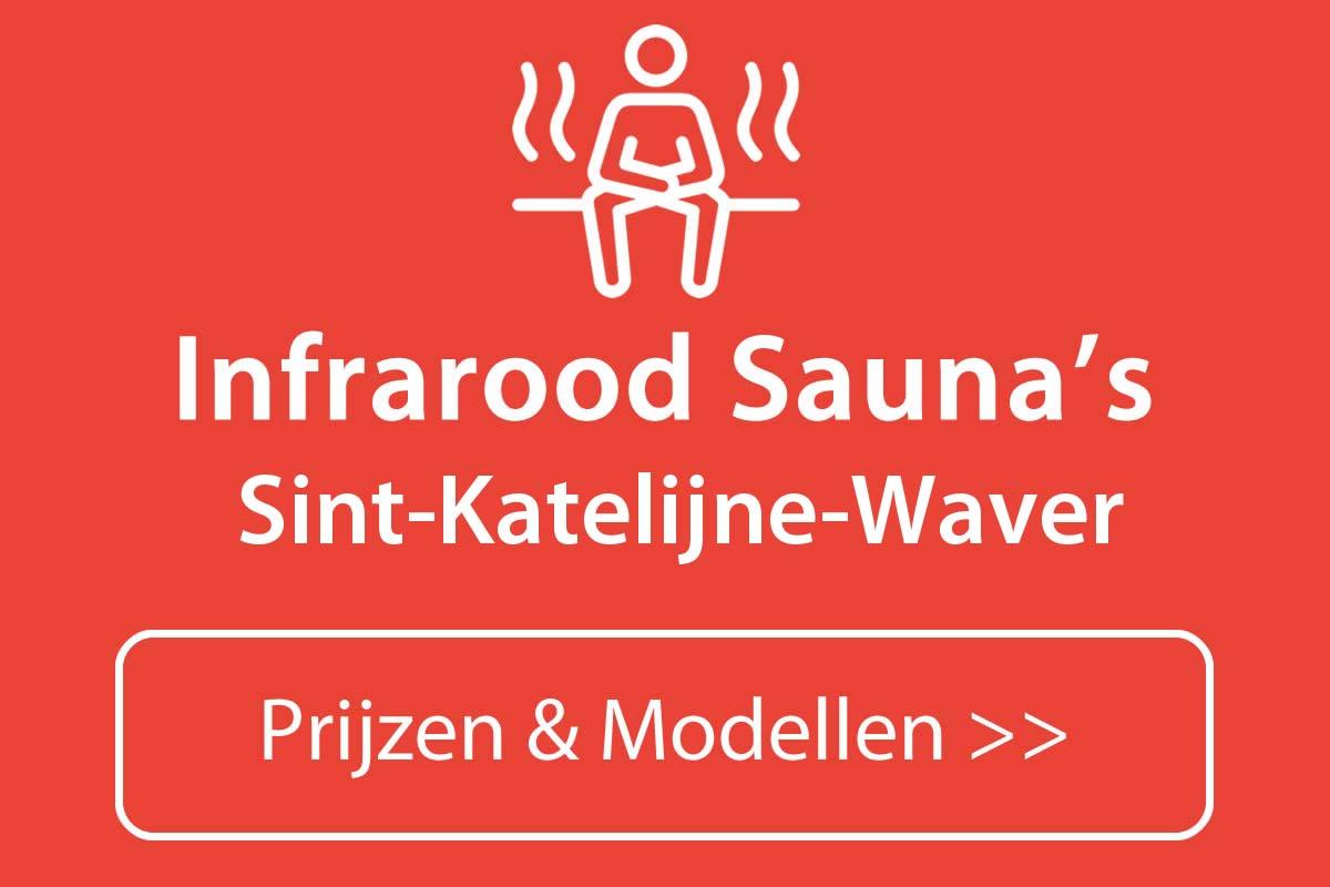 Infrarood sauna kopen in Sint-Katelijne-Waver