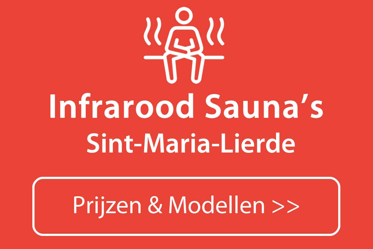Infrarood sauna kopen in Sint-Maria-Lierde