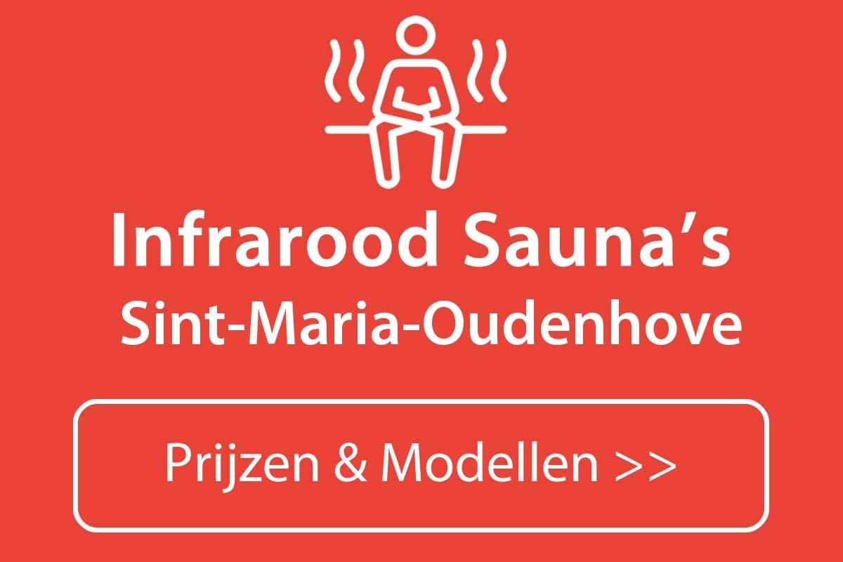Infrarood sauna kopen in Sint-Maria-Oudenhove