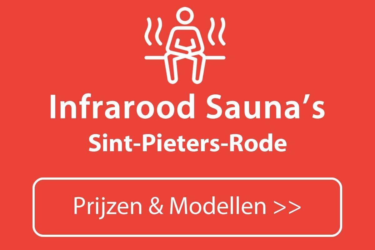 Infrarood sauna kopen in Sint-Pieters-Rode