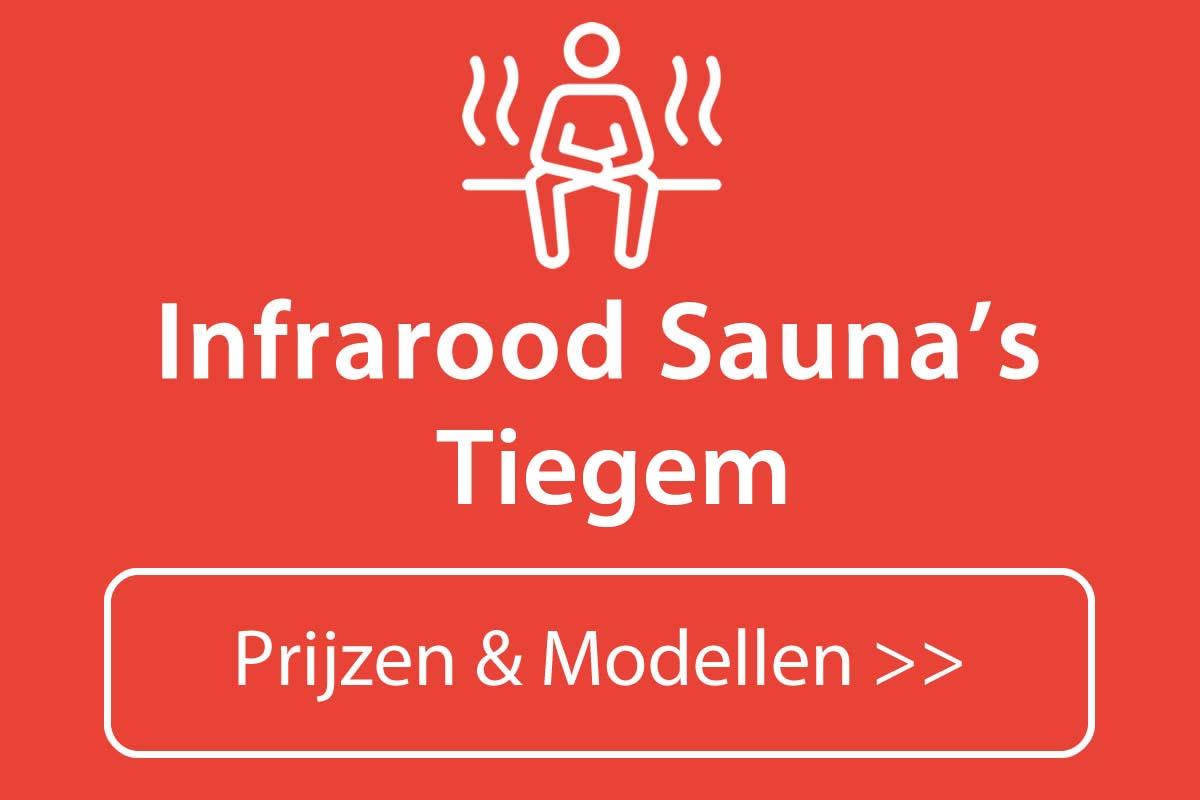 Infrarood sauna kopen in Tiegem