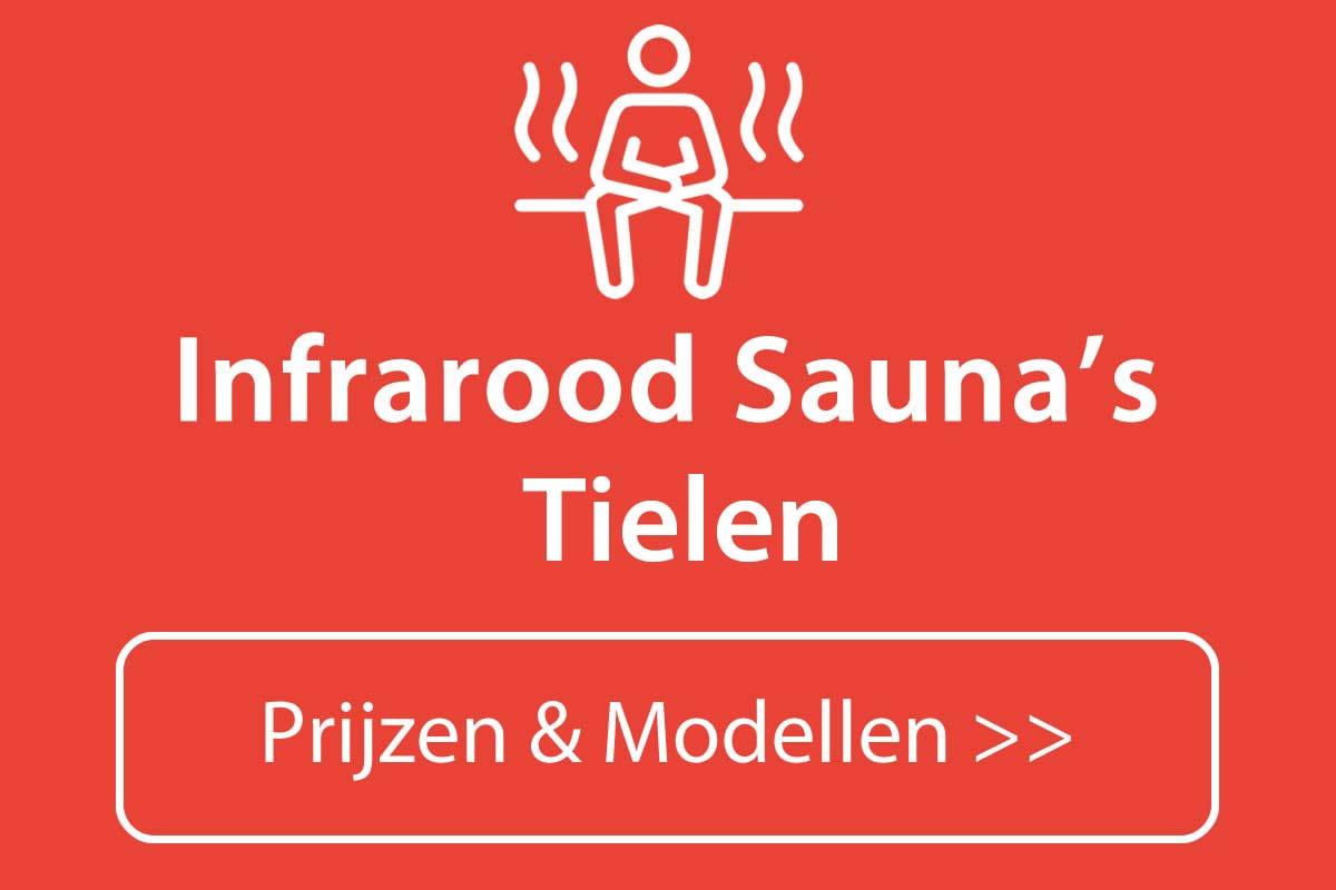 Infrarood sauna kopen in Tielen
