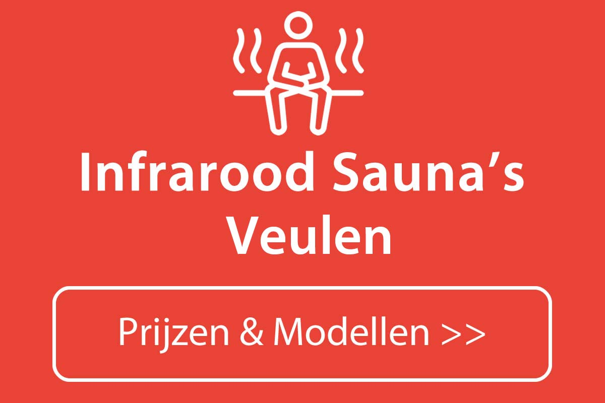 Infrarood sauna kopen in Veulen