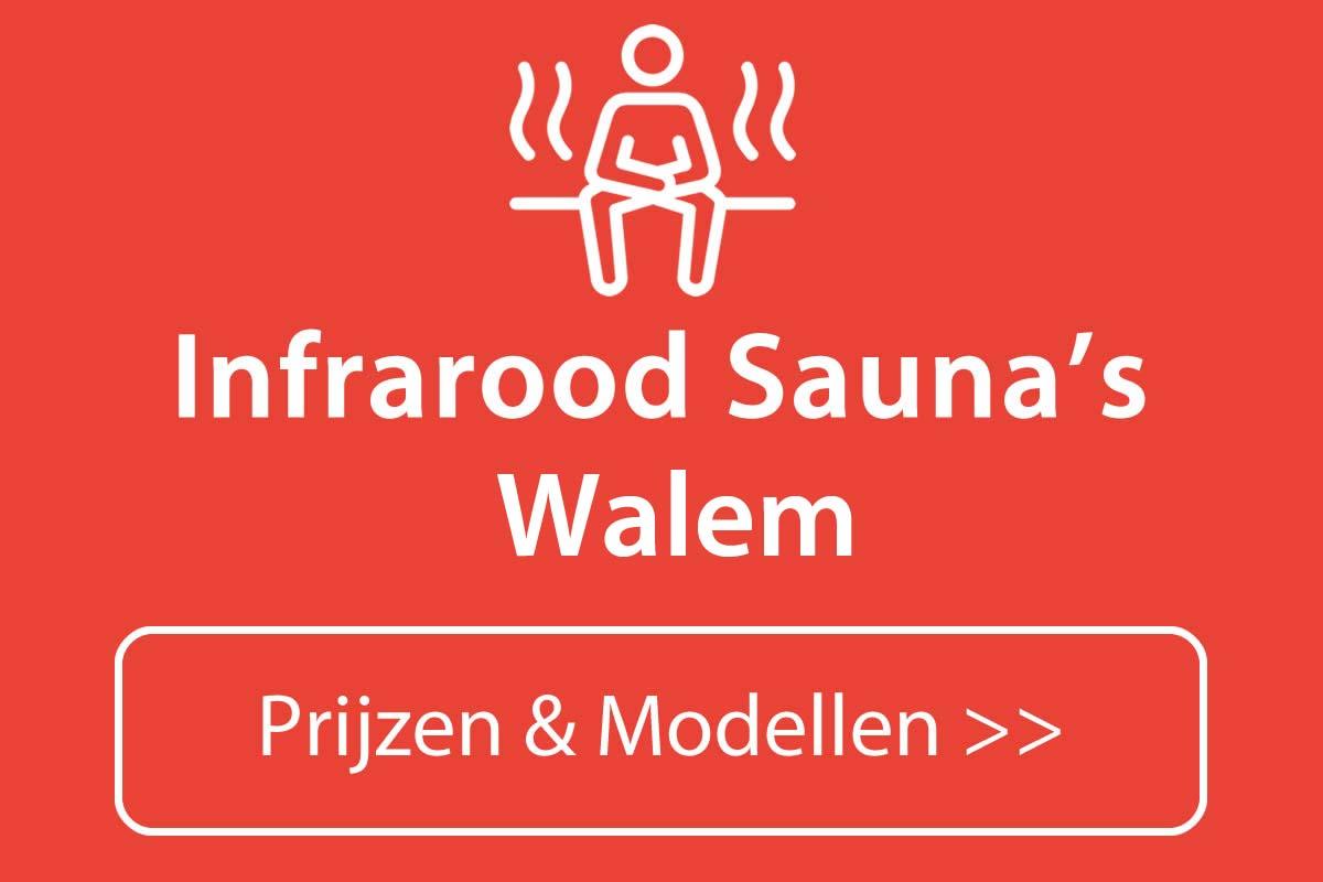 Infrarood sauna kopen in Walem