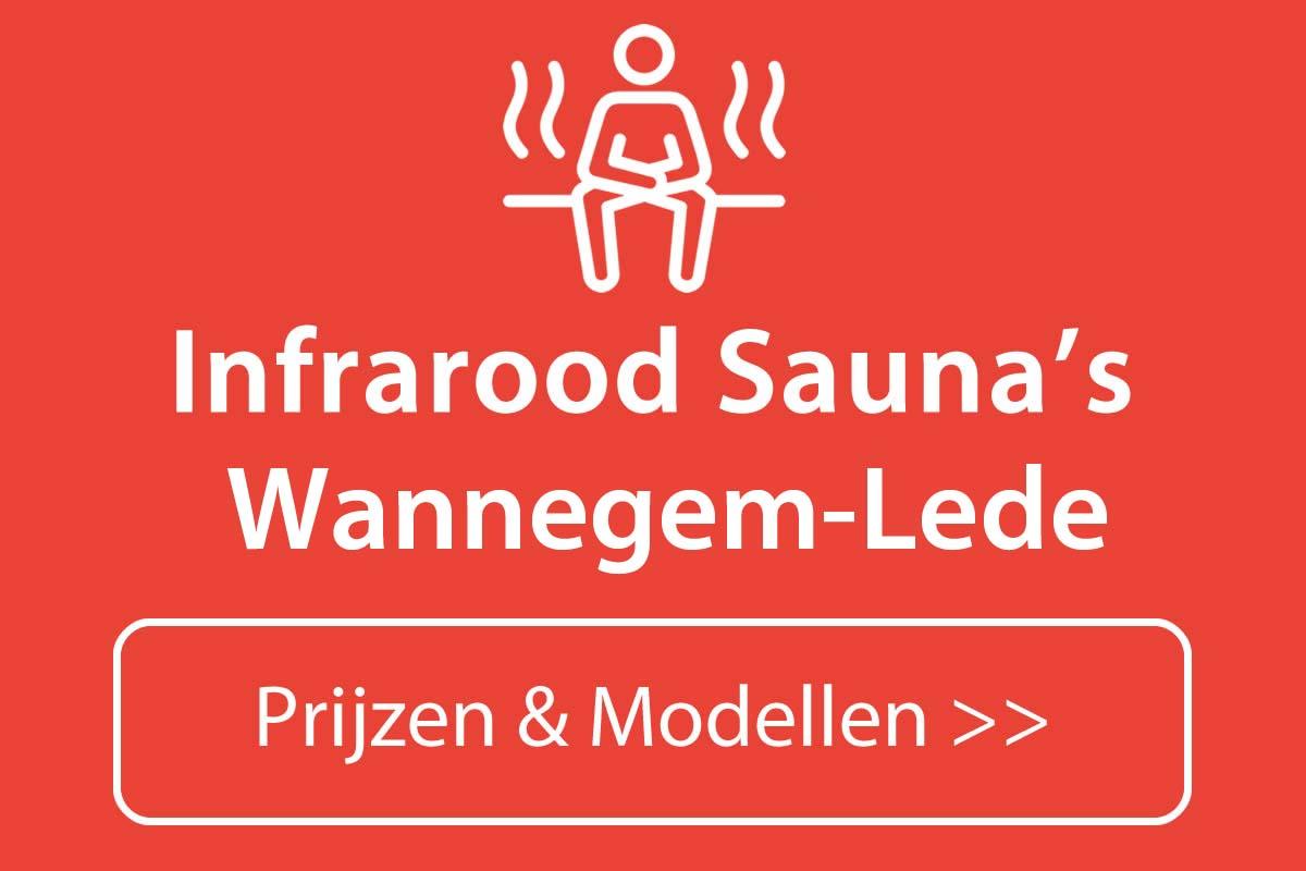 Infrarood sauna kopen in Wannegem-Lede
