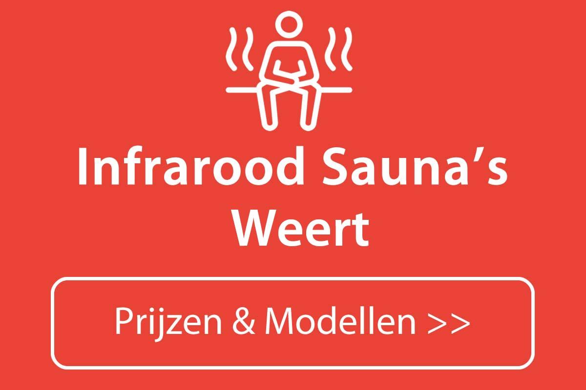 Infrarood sauna kopen in Weert