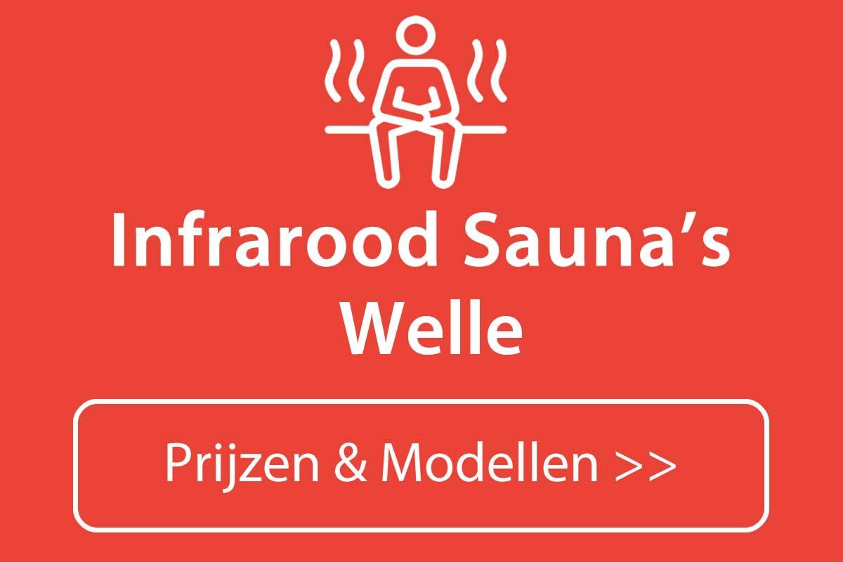 Infrarood sauna kopen in Welle