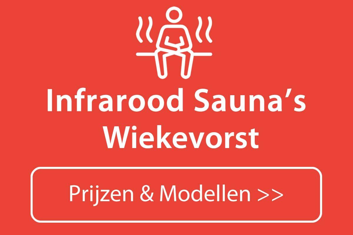 Infrarood sauna kopen in Wiekevorst