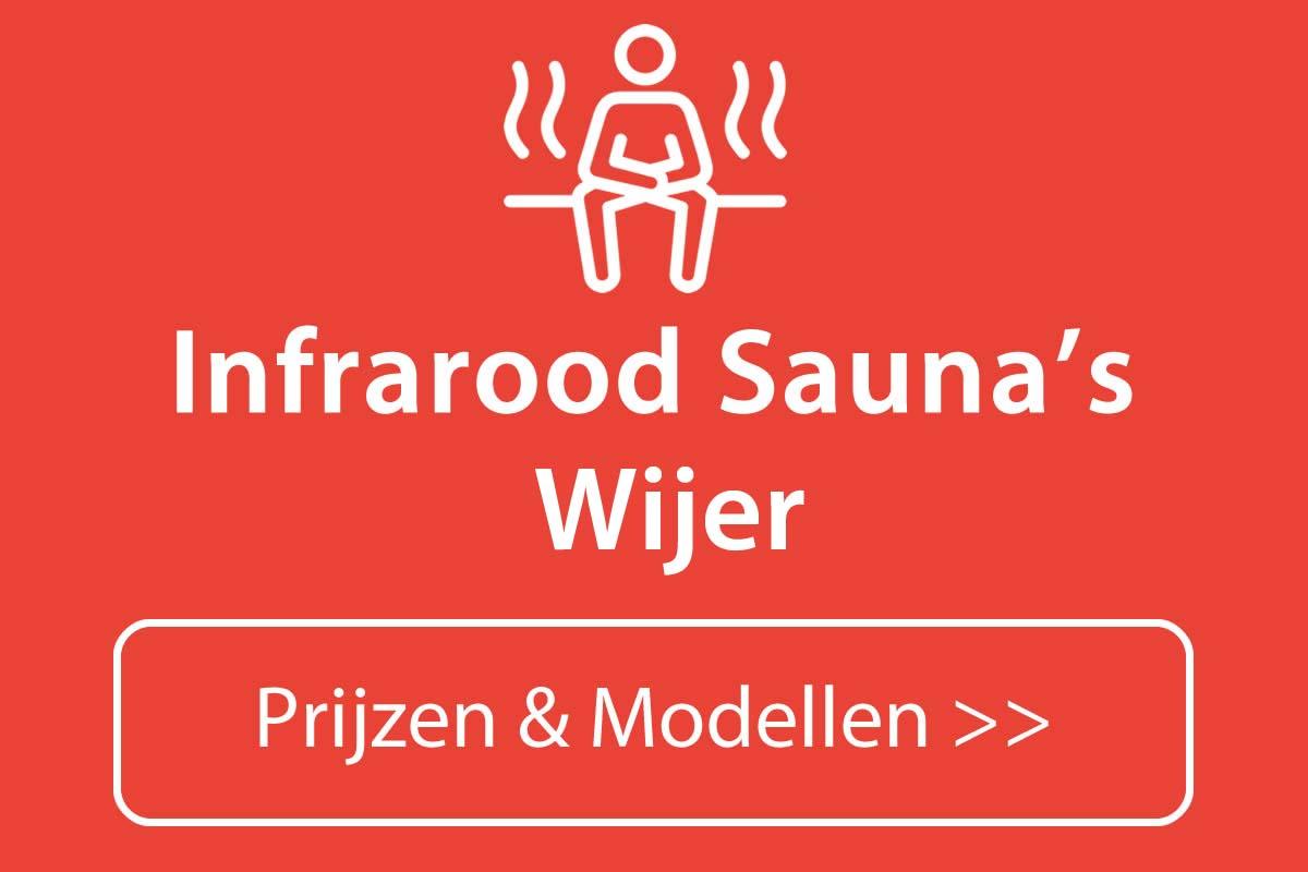 Infrarood sauna kopen in Wijer