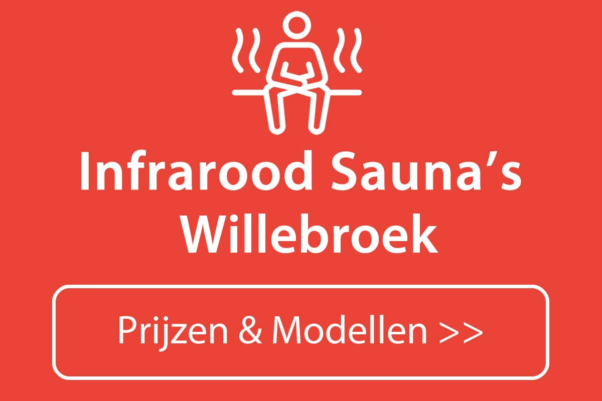 Infrarood sauna kopen in Willebroek