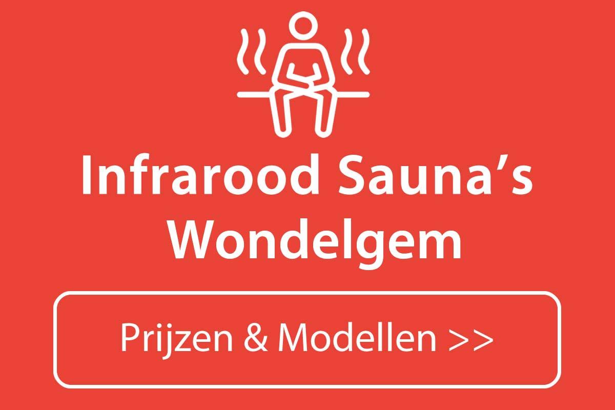 Infrarood sauna kopen in Wondelgem