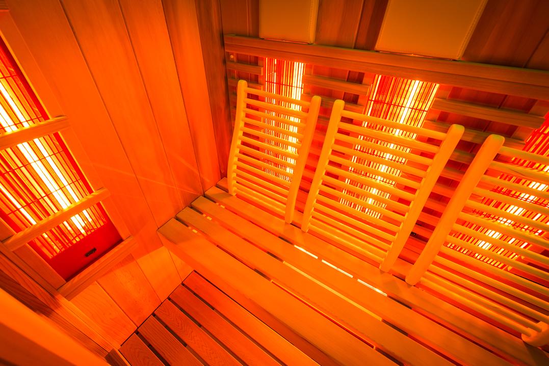 Infrarood sauna op maat