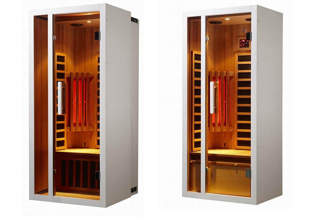 Uitschuifbare infrarood sauna voor 1 of 2 personen