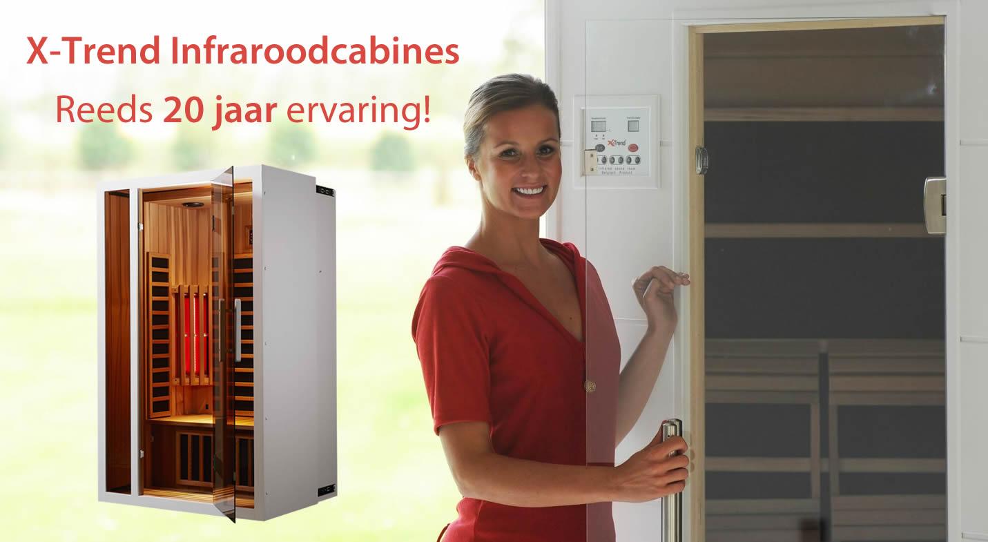 X-Trend Infrarood Sauna's in Nieuwrode