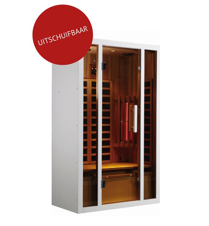infrarood sauna MAGNUS DUAE in West Vlaanderen