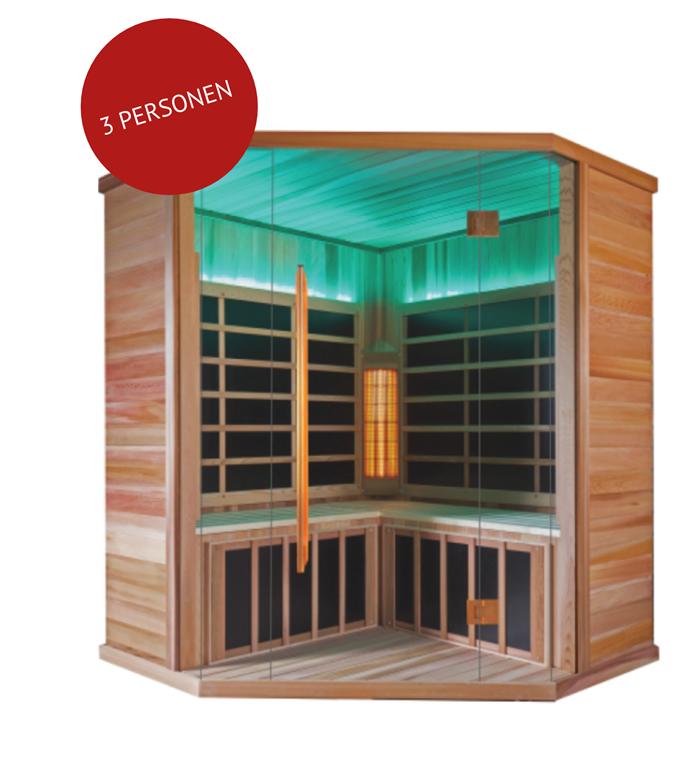 infrarood sauna OPTIMUM ANGULUS